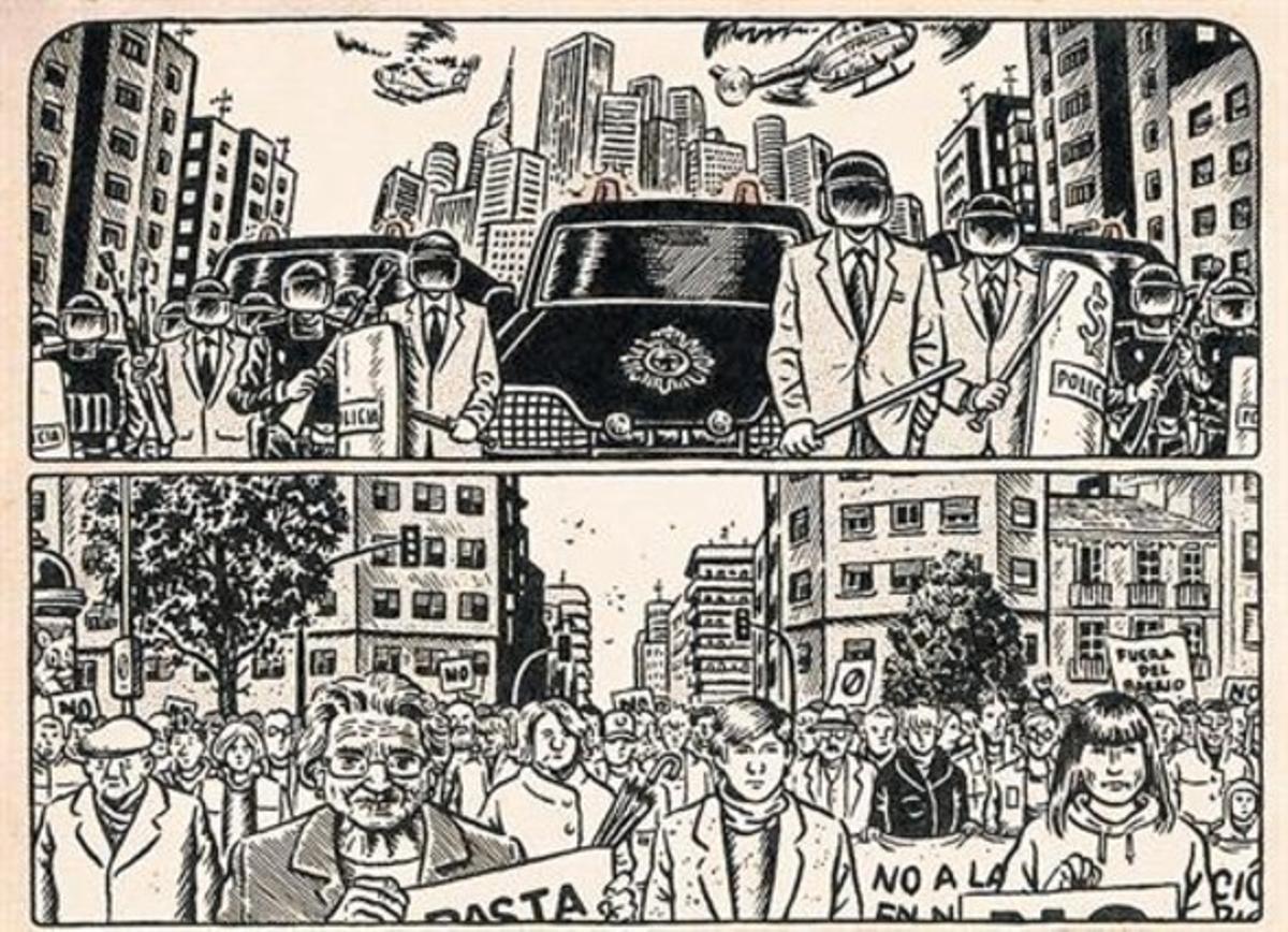 Viñeta de 'Lo que (me) está pasando', de Miguel Brieva