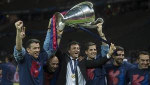 «No he estat més nerviós en la meva vida», admet Luis Enrique sobre la Champions-2015