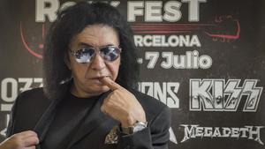 Gene Simmons, bajista y cantante de Kiss