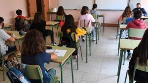 Educación acuerda una moratoria de un año a los exámenes de recuperación