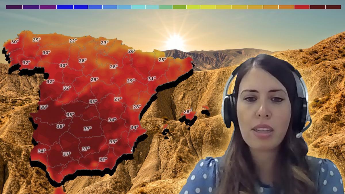 """Mar Gómez, meteoróloga: """"Madrid podría tener en 2050 el clima de Marrakech"""""""