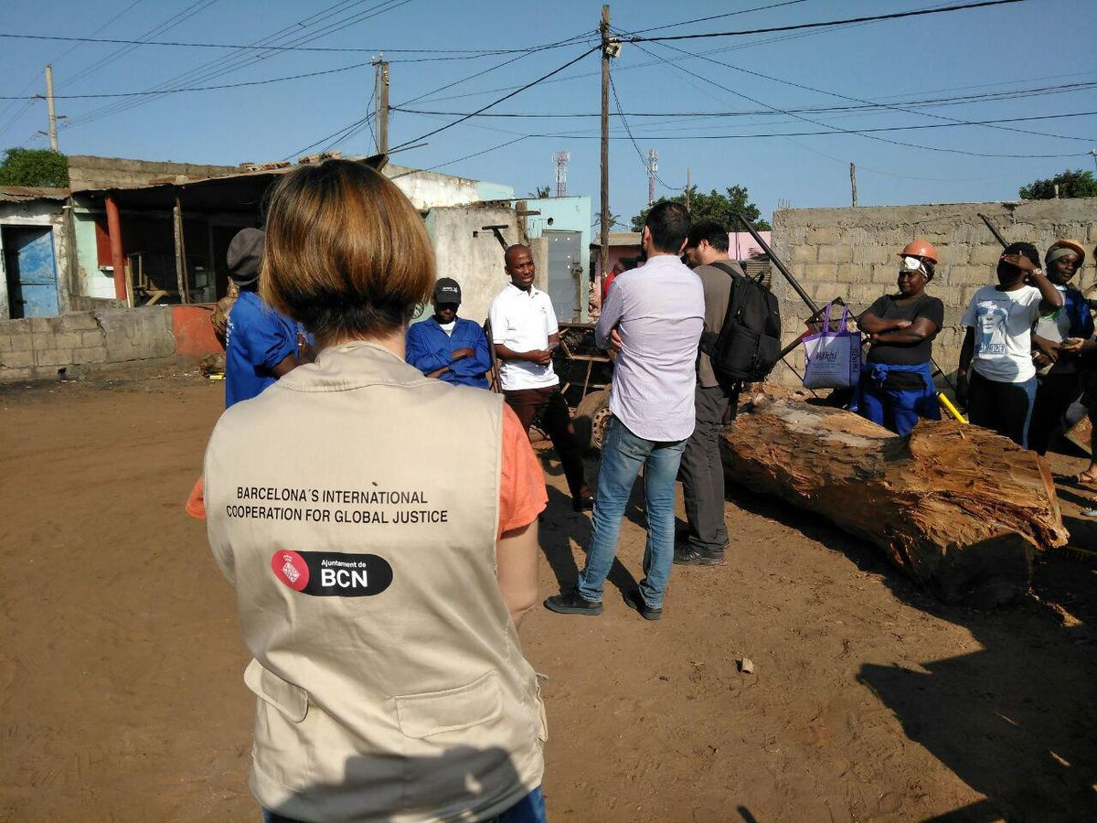 Impulso del servicio de recogida de residuos en Maputo (Mozambique).