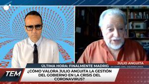 Muere Julio Anguita: así fue su última entrevista para 'Todo es mentira' hace solo una semana