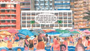 El drama social rere la bombolla del turisme i el maó arriba al còmic
