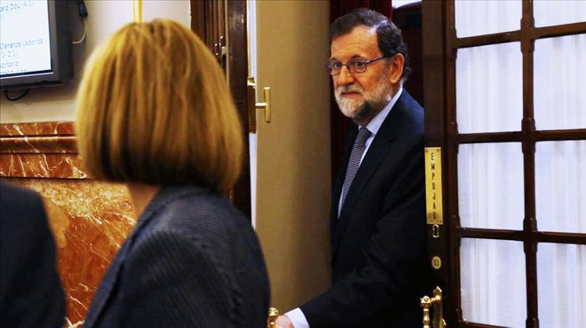 Rajoy tiene un plan para evitar que se celebre un referéndum de independencia en Cataluña.