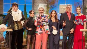 El jurado de 'Maestros de la costura 4' junto a Marcela Vélez-Osorno, Boris Izaguirre y Raquel Sánchez Silva