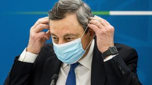 Draghi renuncia al seu sou com a primer ministre d'Itàlia