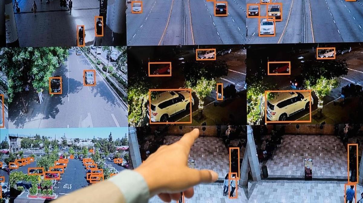 Reconocimiento de objetos por programas de inteligencia artificial.