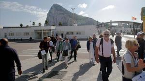 Gibraltar, la frontera más pequeña del 'brexit'.