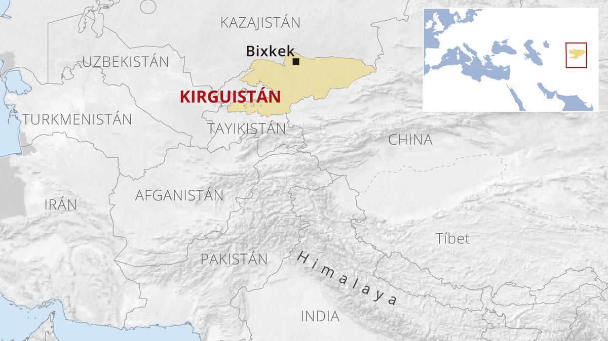 Detenido un español en Kirguistán por intentar secuestrar a una menor