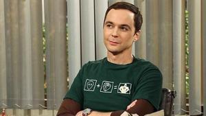 Jim Parsons, en el papel de Sheldon en 'The big bang theory'.