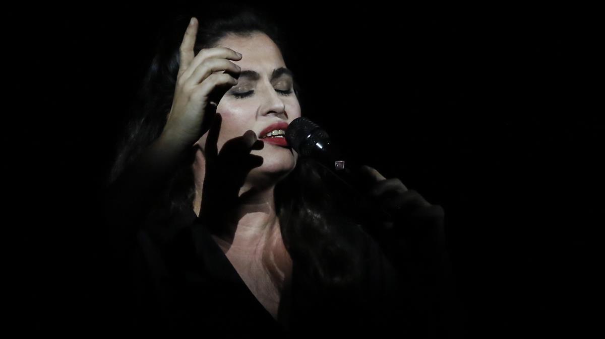 Concierto de Silvia Pérez Cruz en el Palau de la Música.