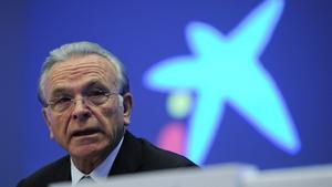 El presidente de Criteria y de la Fundación Bancaria La Caixa, Isidre Fainé.