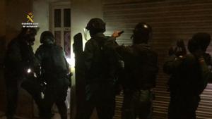 Operació policial contra el tràfic de marihuana a Barcelona