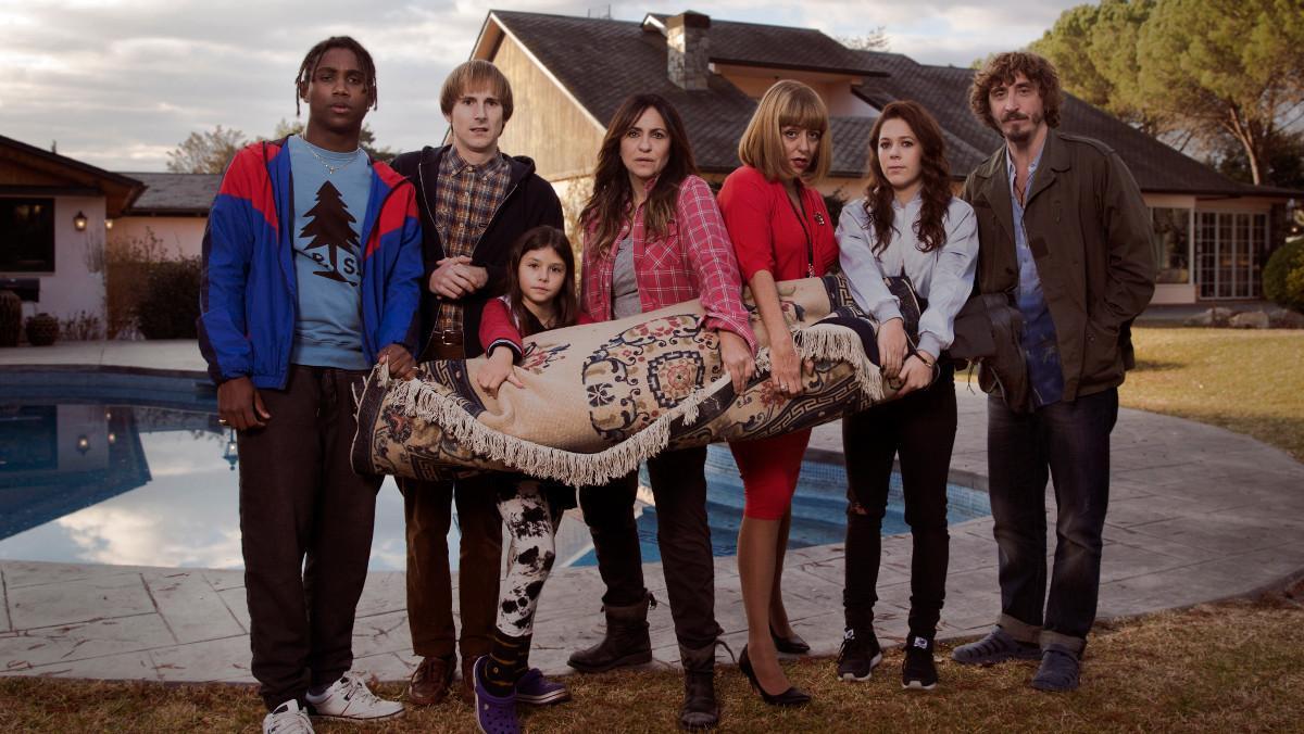Imagen promocional de la nueva serie de TV-3 'Benvinguts a la família'.