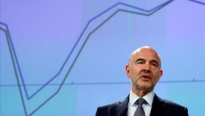 Pierre Moscovici, comisario europeo de Asuntos Económicos.