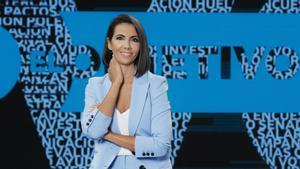 Ana Pastor en el plató de 'El objetivo'.