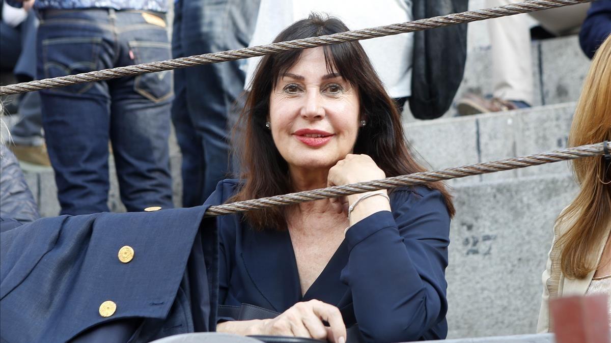 Carmen Martínez Bordiú, nieta de Franco.
