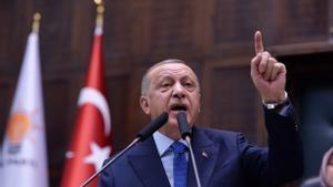 El presidente turco, Reccep Tayyip Erdogan, en una imagen de 2019.