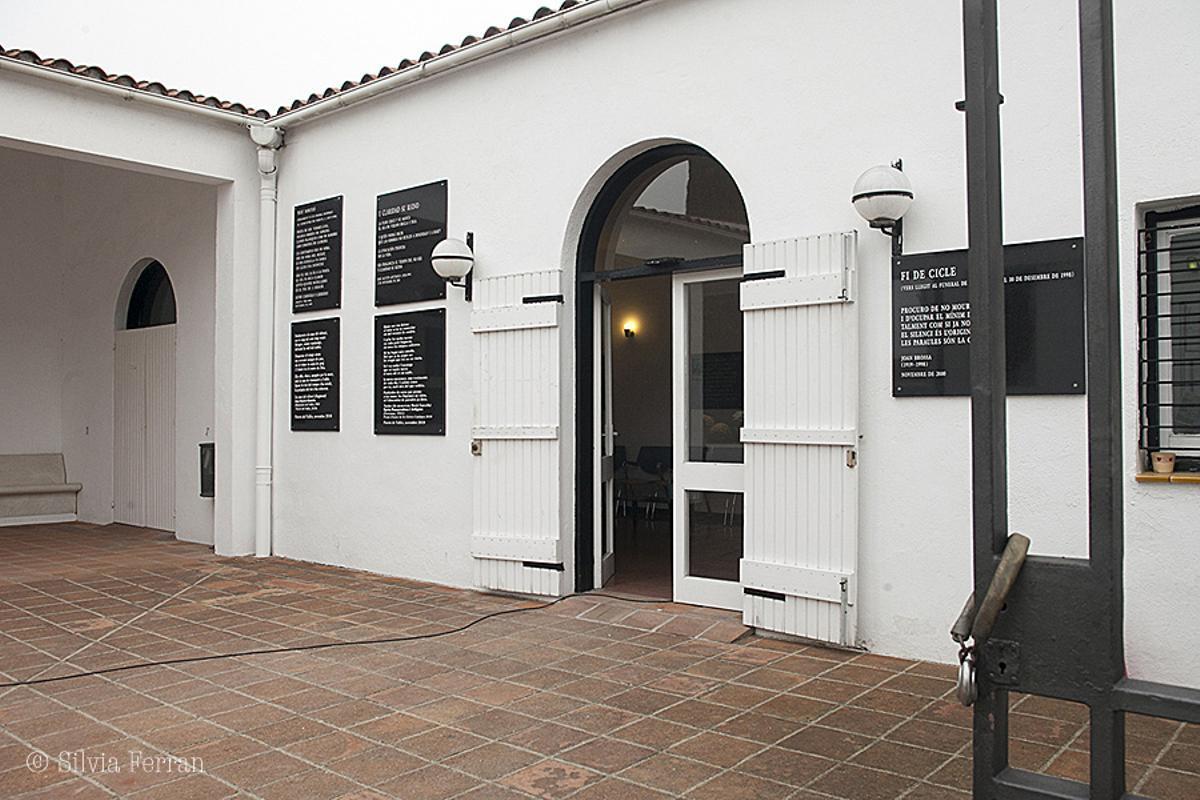 Sala de velatorio del cementerio municipal de Parets