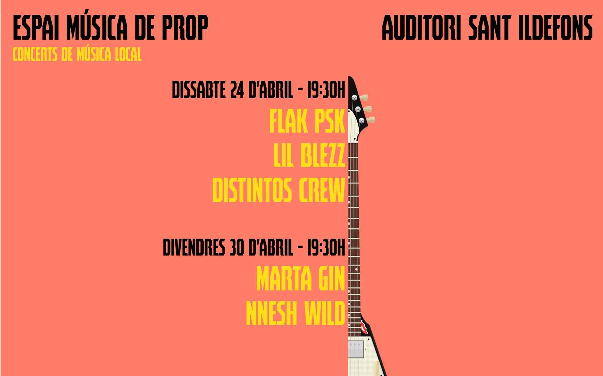 Ciclo de conciertos 'Espai Música de prop' en Cornellà