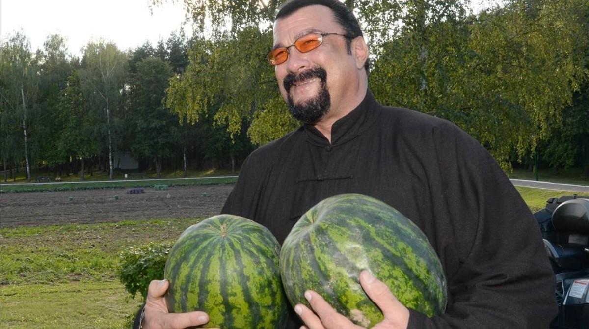 Steven Seagal, en Bielorrusia.