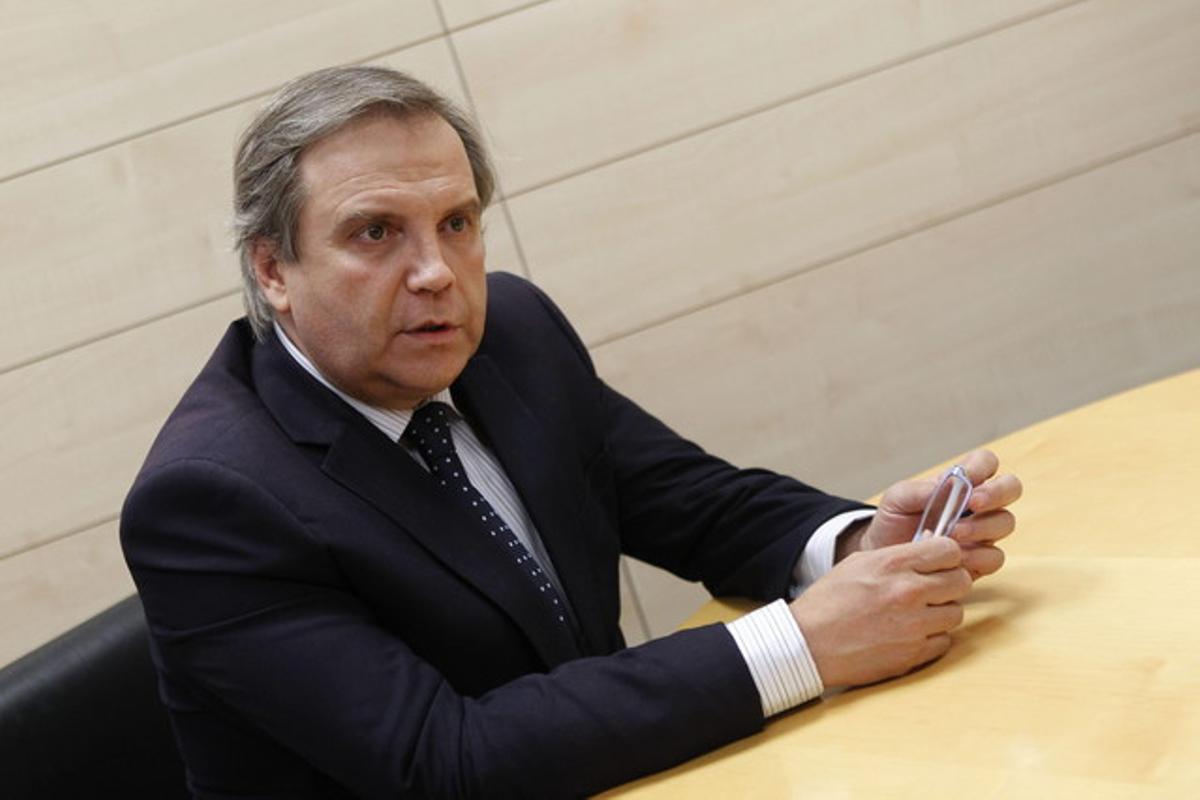 El portavoz del PSOE en el Ayuntamiento de Madrid, Antonio Miguel Carmona, en una imagen de archivo.