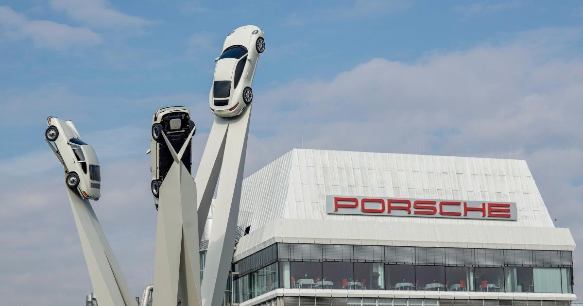 Sede de Porsche en Stuttgart