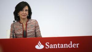 Ana Patricia Botín, presidenta delGrupo Santander.