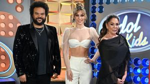 Carlos Jean, Edurne e Isabel Pantoja.