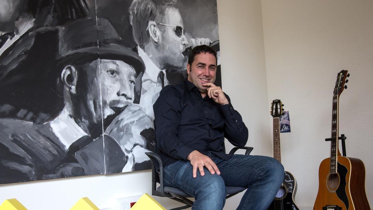 Jordi Herreruela, director del festival Cruïlla, este martes.