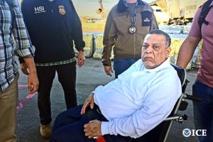 El exgeneral Inocente Montano, culpable del asesinato de cinco jesuitas en El Salvador.