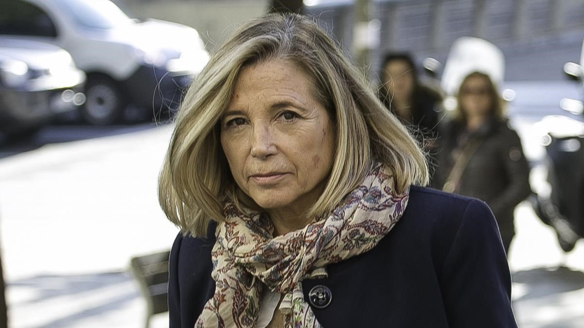 Joana Ortega en el mes de febrero del 2020