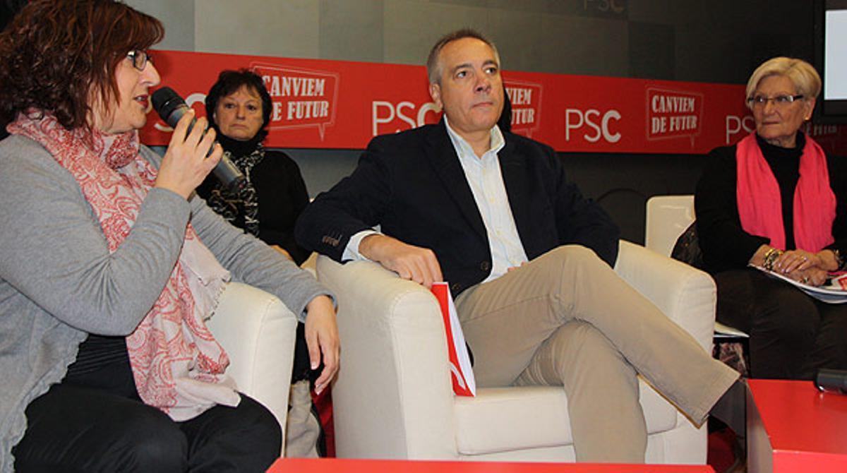Pere Navarro insta a defender el proyecto federal del PSC y la consulta pactada con el Estado