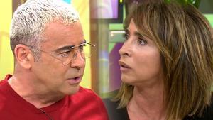 """Tenso encontronazo entre Jorge Javier y María Patiño: """"Es la historia de Rocío Carrasco, no la tuya"""""""