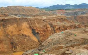Mina en Birmania donde se produjo un accidente.