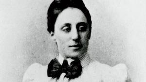 La matemática alemana Emmy Noether.