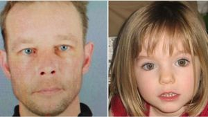 Christian Brueckner (presunto asesino)y Madeleine Mac Cann.