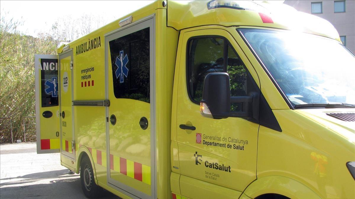 Imagen de archivo de una ambulancia del SEM.