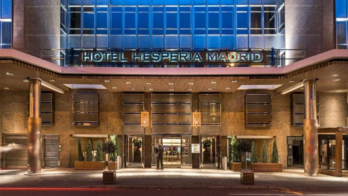 El hotel Hesperia de Madrid.