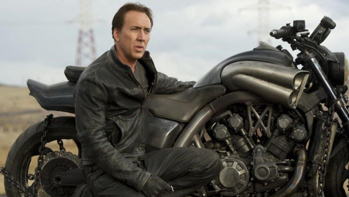Nicolas Cage protagoniza 'Ghost Rider II: Espíritu de venganza'