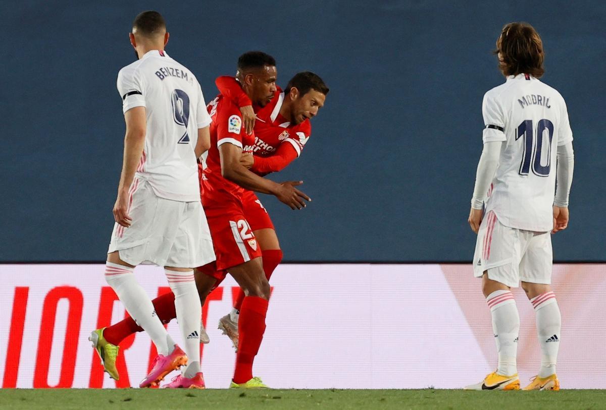 El Madrid també falla contra el Sevilla