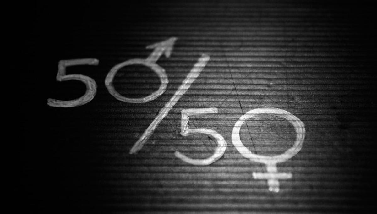 Conferencia sobre desigualdad de género.