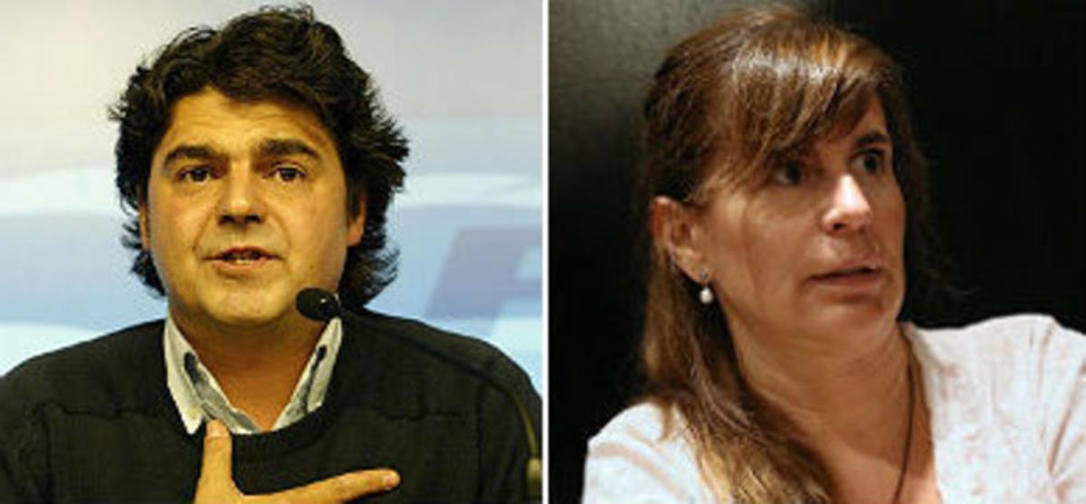 Jorge Moragas y María Victoria Álvarez.