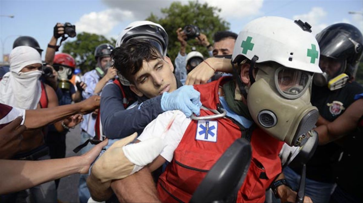 La cifra de muertos asciende a 76 desde el comienzo de las protestas.