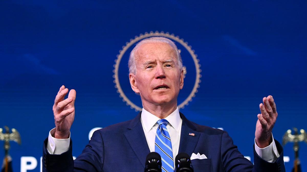 Joe Biden, durante la presentación de su plan económico.