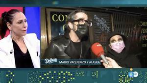 """Mario Vaquerizo y Alaska defienden el negacionismo de Victoria Abril y Miguel Bosé: """"Son muy valientes"""""""