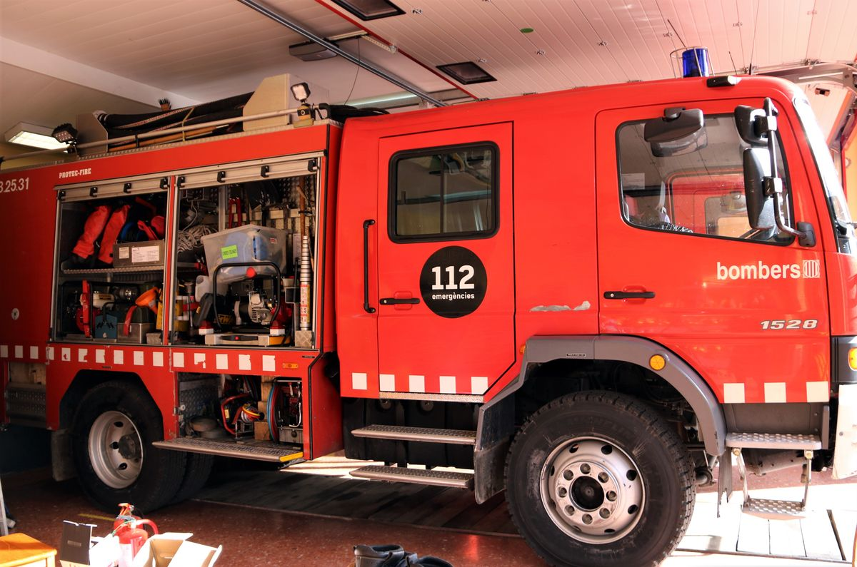 Imagen de archivo de un camión de bomberos.