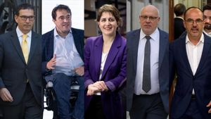 Combo politica  Jaume Alonso-Cuevillas  David Bonvehi  Marta Pascal  Jordi Baiget i Carles Campuzano