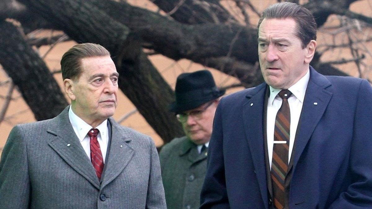 Al Pacino y Robert De Niro, en 'The Irishman', de Martin Scorsese.